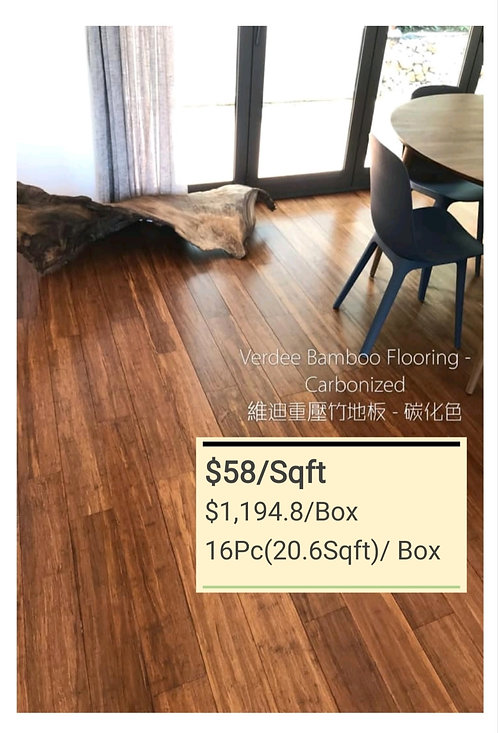 NATURE Bamboo Flooring - Carbonized $58/sqft  $1194.8/Box(20.6Sqft)+Delivery$300
