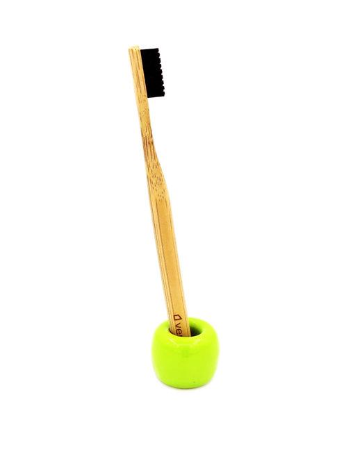 Ceramic Toothbrush Stand - Green