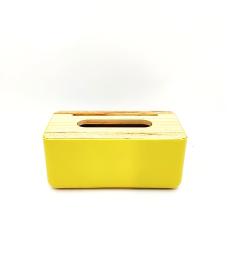 CANDY Tissue Box Cover - Yellow