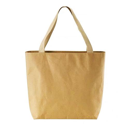 水洗牛皮紙手提袋(L)
