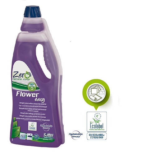 FLOWER EASY Super concentrated scented hydroalcoholic natural* detergent