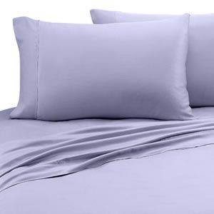 Bamboo Fiber 4-piece Bedding Set (Queen Size) -Purple