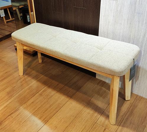 OWEN橡膠木長椅-卡其色$1,380 + 運費$300