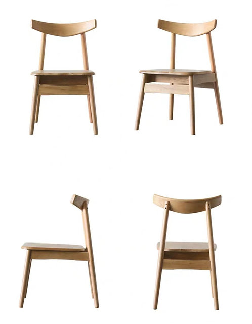 OPAL II Solid Oak Chair $1380 +Delivery $300