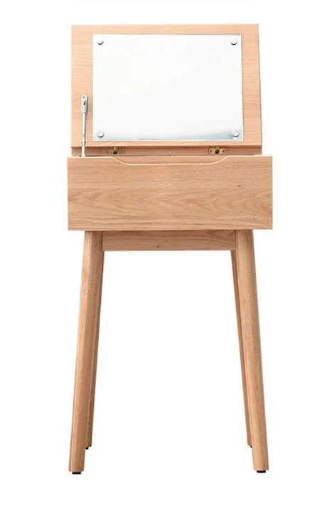 NILI II Soild Oak Dressing Table & Stool $3,180 +Delivery $500
