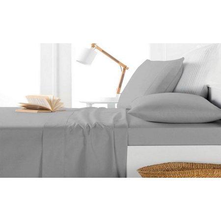 Bamboo Fiber 4-piece Bedding Set (King Size) - Beige