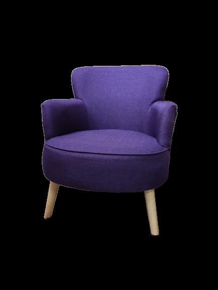 Jade 1-Seat Sofa - Purple $1880 + Delivery $300