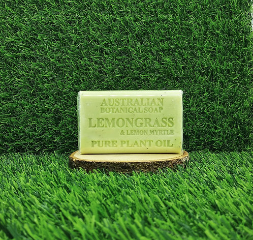 Australian Botanical Soap (140G) - Lemongrass & Lemon Myrtle
