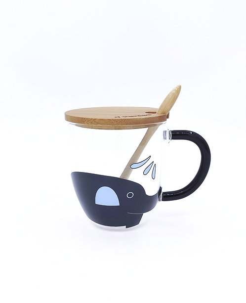 Elephant Coffee Mug - Blue