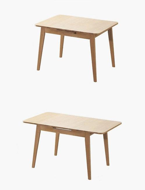 opal實心橡木餐桌$4800 + 運費$500