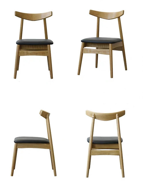OPAL II Solid Oak Chair - PU $1380 + Delivery $300