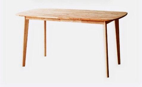 OWEN Rubberwood Table 1.2 $2,980 + Delivery $500