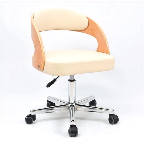 MIA III PU Leather Swivel Chair - white $1,680 + Delivery $300
