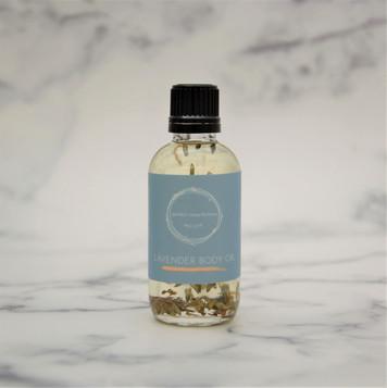 All Natural Lavender Body Oil