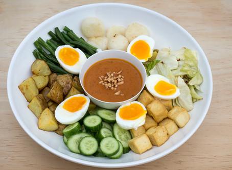Satay Peanut Nyona Salad (Gado Gado)