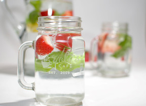 MJC MKTG Food Photography, Yola's Cafe Infused Water