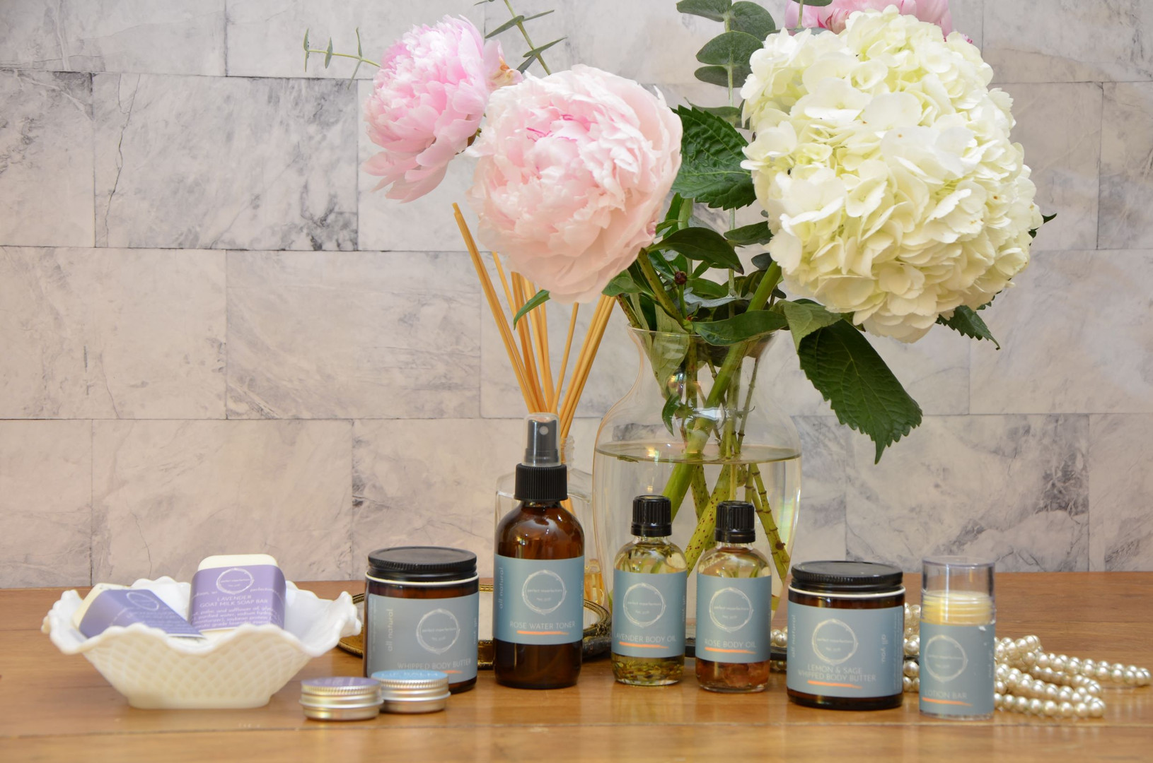 Perfect Imperfections Full Body Care Line