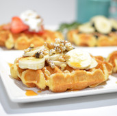 MJC MKTG, Food Photography, Belgian Waffles