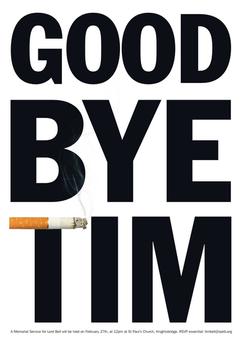 Tim Bell Memorial Ad