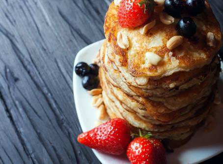 Vegan 'Buttermilk' Pancakes