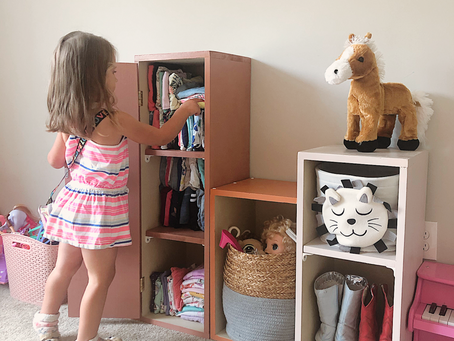 Boho & Mid-Century Inspired Girl's Room