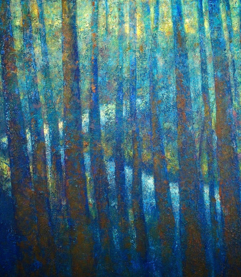 'Landford' 130 x 100 cm on Canvas