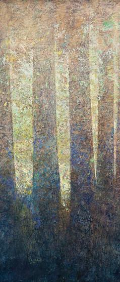 'Cradle' 130 x 100 cm on Canvas