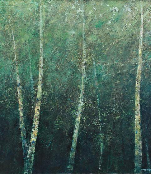 'Toward Heaven' 80 x 80 cm on Canvas