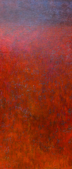 'Cardinal' 60 x 45 cm on Cradled Board