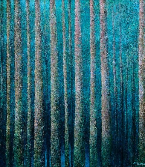 'Paradise' 80 x 80 cm on Canvas