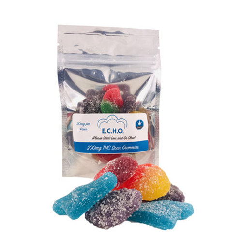 E.C.H.O 200mg THC Gummies