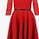 Thumbnail: Abito Pizzo Red / Black - Guess w74k65w9590 - C512