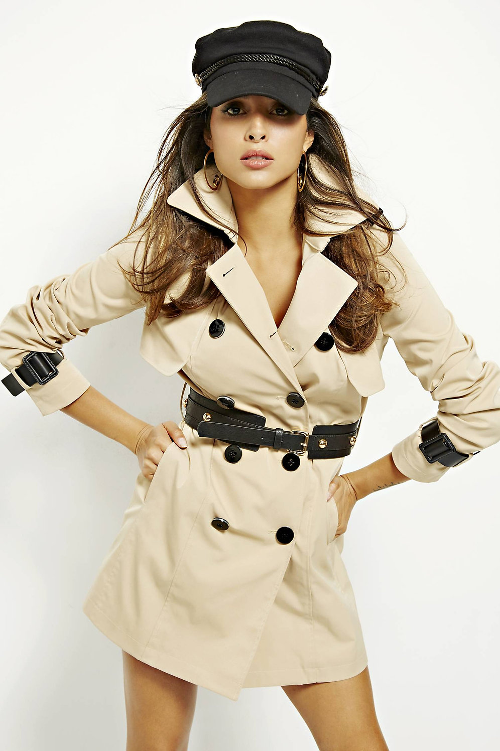 detailed look 9b871 9a3ce Trench Cintura - Guess | Just Moda