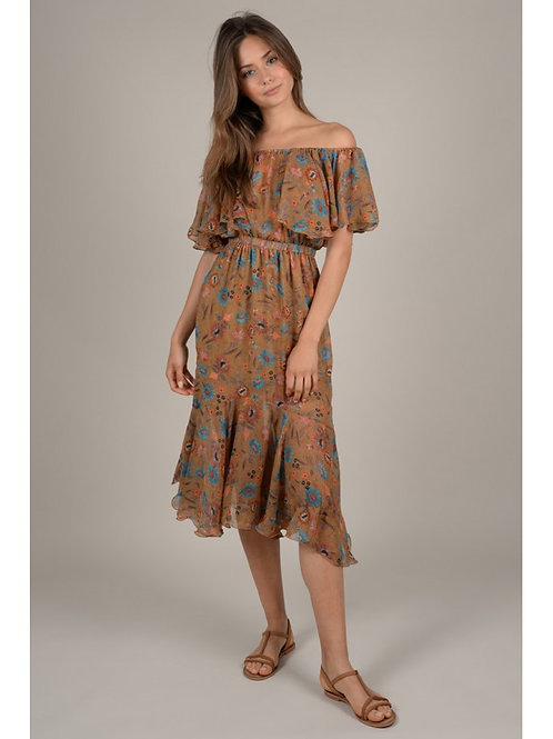 Ladies Woven Dress LA17E19 - Molly Bracken