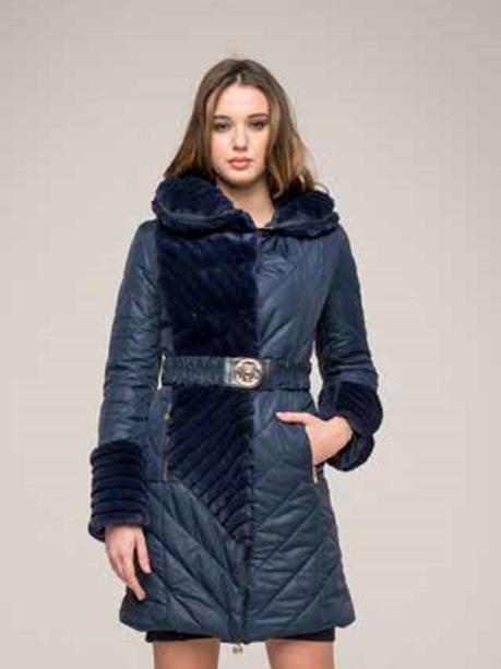 cheap for discount e0a3a dd53f Giubbino Nylon Ecopelliccia - Roberta Biagi