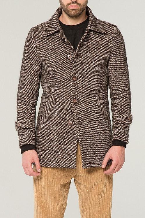 Cappotto Uomo Spigato - Outfit