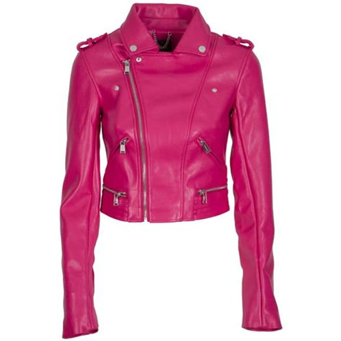 Giacca Ecopelle Fuxia - Guess