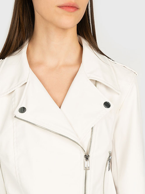 GIACCA SIMILPELLE BIANCO - GUESS - Codice n. W1GL11WDOC0