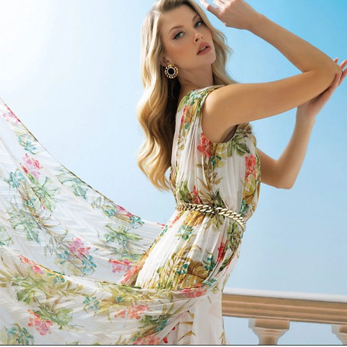 ABITO MARCIANO STAMPA FLOWERS - GUESS MARCIANO