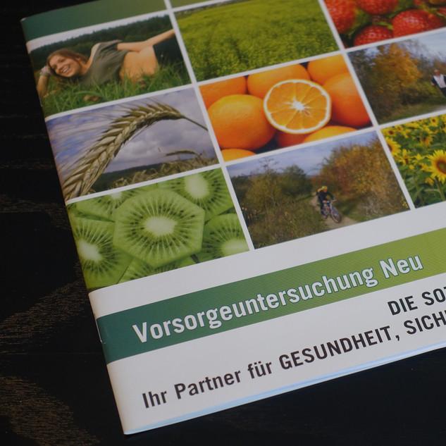 Vorsorge-Broschüre der österreichischen Sozialversicherung