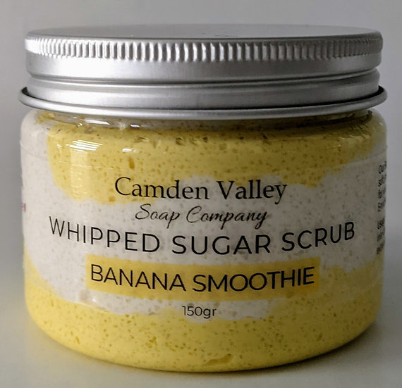 Banana Smoothie Whipped Sugar Scrub