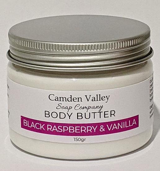 Black Raspberry and Vanilla Body Butter