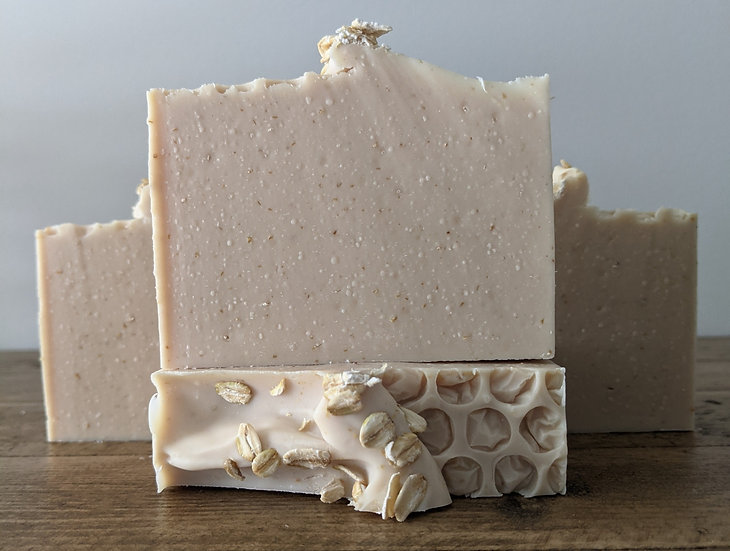 Oatmeal & Honey Luxury Soap Bar