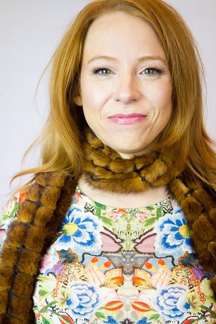 Sarah Shaeffer, MUA Kim Gainer