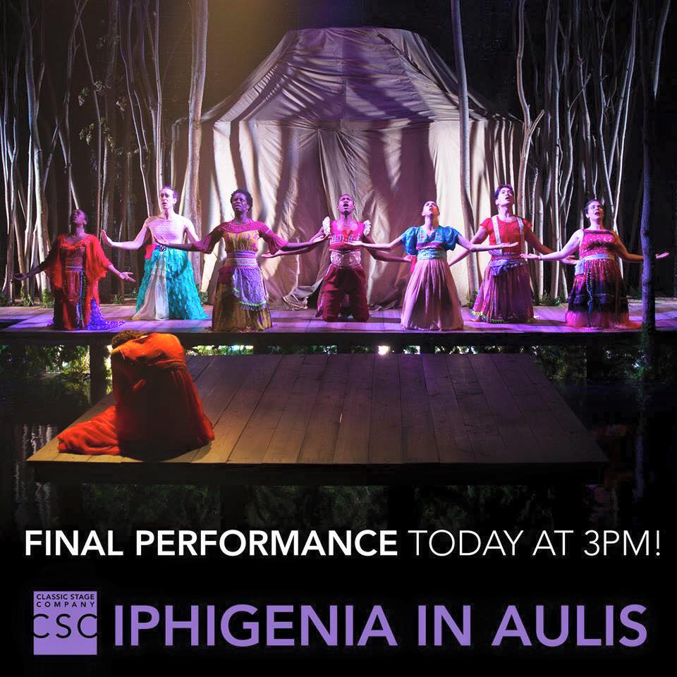 Iphigenia in Aulis at CSC