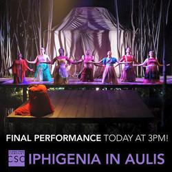 Iphigenia in Aulis at CSC