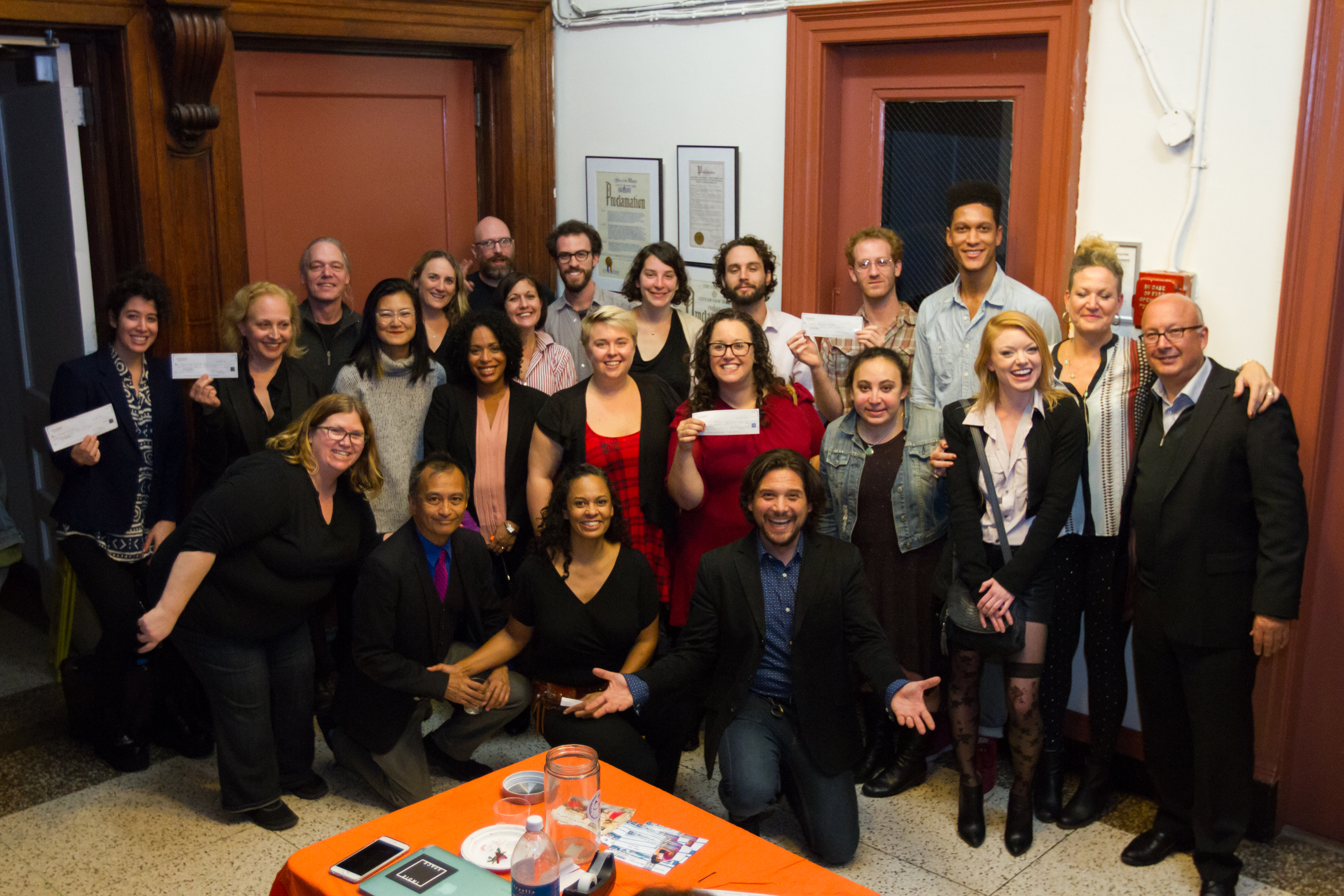 Indie Theater Fund Give Party 2016