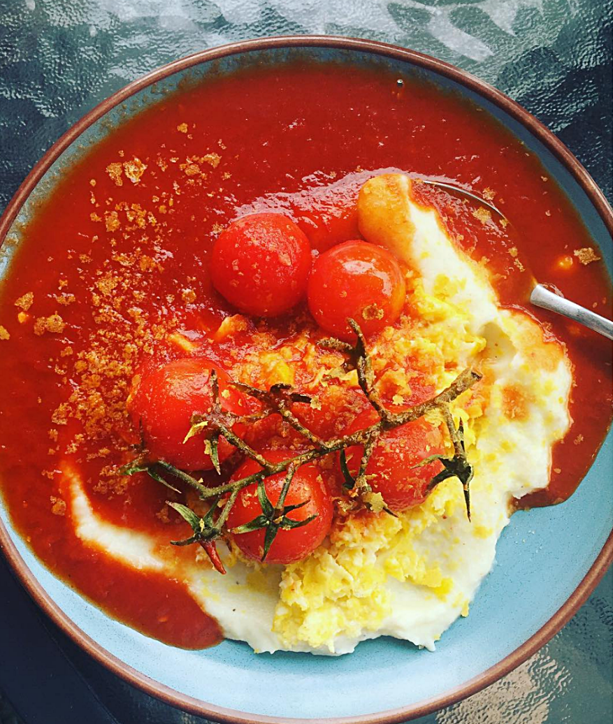 Portugese Eggs