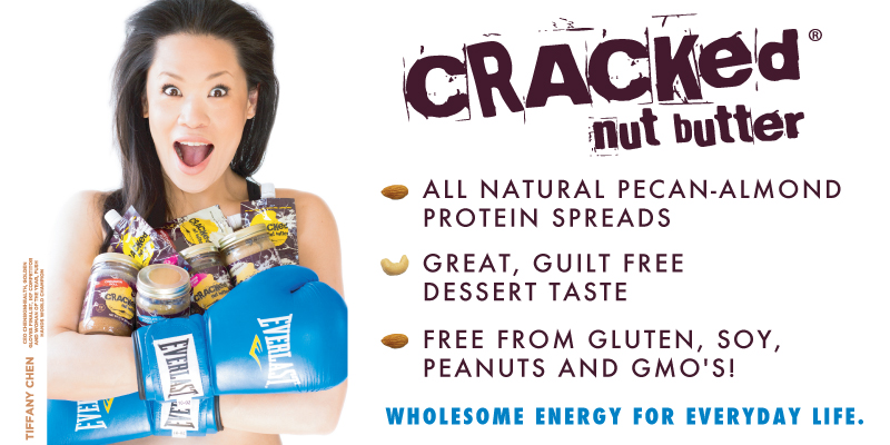 Tiffany Chen for Cracked Nut Butter
