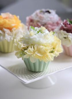 Flower cake ミントクリーム